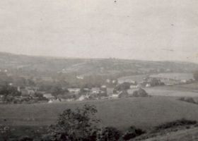 View from Pant Farm over Meidrim