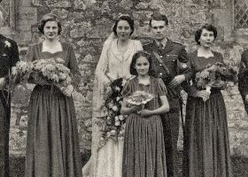 Col. Hassall's daughter's wedding