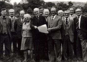 Dedication of The Village Green 1982
